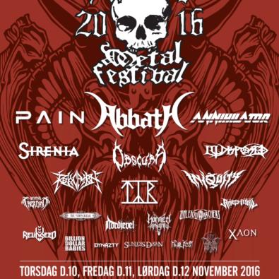 Aalborg Metal Festival 2016
