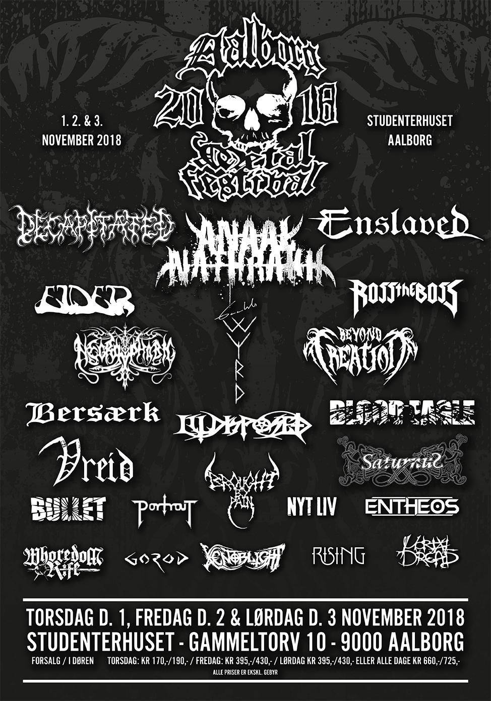 aalborg metal festival 2018